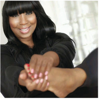 Expert pedicurist Gloria L. Williams has her own line of foot care products.