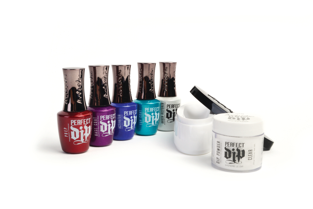 "<p>Artistic Nail Design's new Perfect Dip system features fast application that makes it easy to achieve a vivid color payoff or a perfect smile line. It creates less product waste and mess and doesn't kick up powders into the air. The odorless formula ensures that those pesky monomer smells won't harsh the vibe in your salon. The system includes 18 color powders ranging from vibrant tones to traditional French powders.<br /><a href=""http://www.artisticnaildesign.com"">www.artisticnaildesign.com</a></p>"
