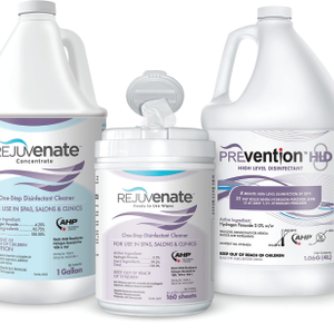 Rejuvenate Salon & Spa Disinfectants