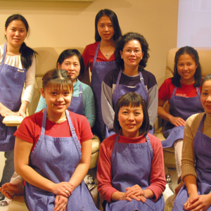 Mani Pedi hires nail techs from ads it runs in Vietnamese language newspapers. Employees receive...