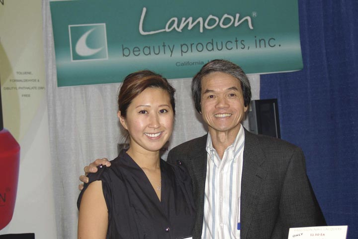 <p>Lamoon&rsquo;s Don Tran was happy to work the show with his daughter Rosa.</p>