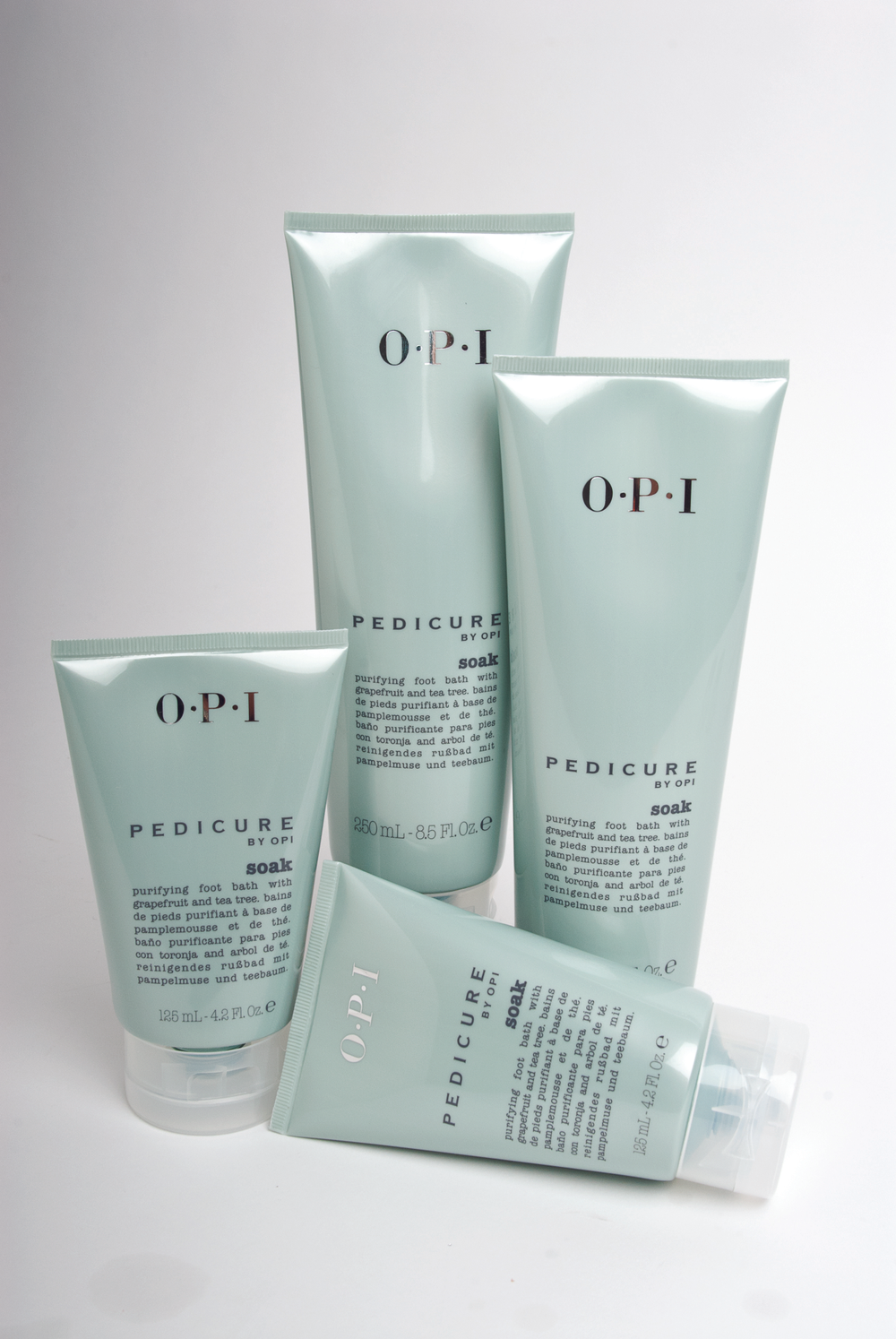 """<p><a href=""""http://www.opi.com/"""">OPI&rsquo;s</a> Pedicure Soak is a purifying foot bath with grapefruit and tea tree oil infused with the aroma of fresh-cut citrus. OPI also has an avocado lipid complex in the formula to thoroughly cleanse and soften feet.</p>"""