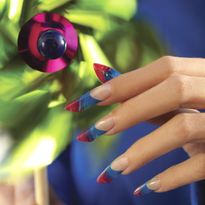 Behind the Scenes: Pretty Pinwheel Nails From April 2013 Cover