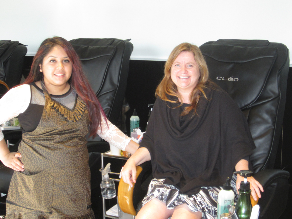 <p>At Hush Nail Boutique in Chicago.</p>