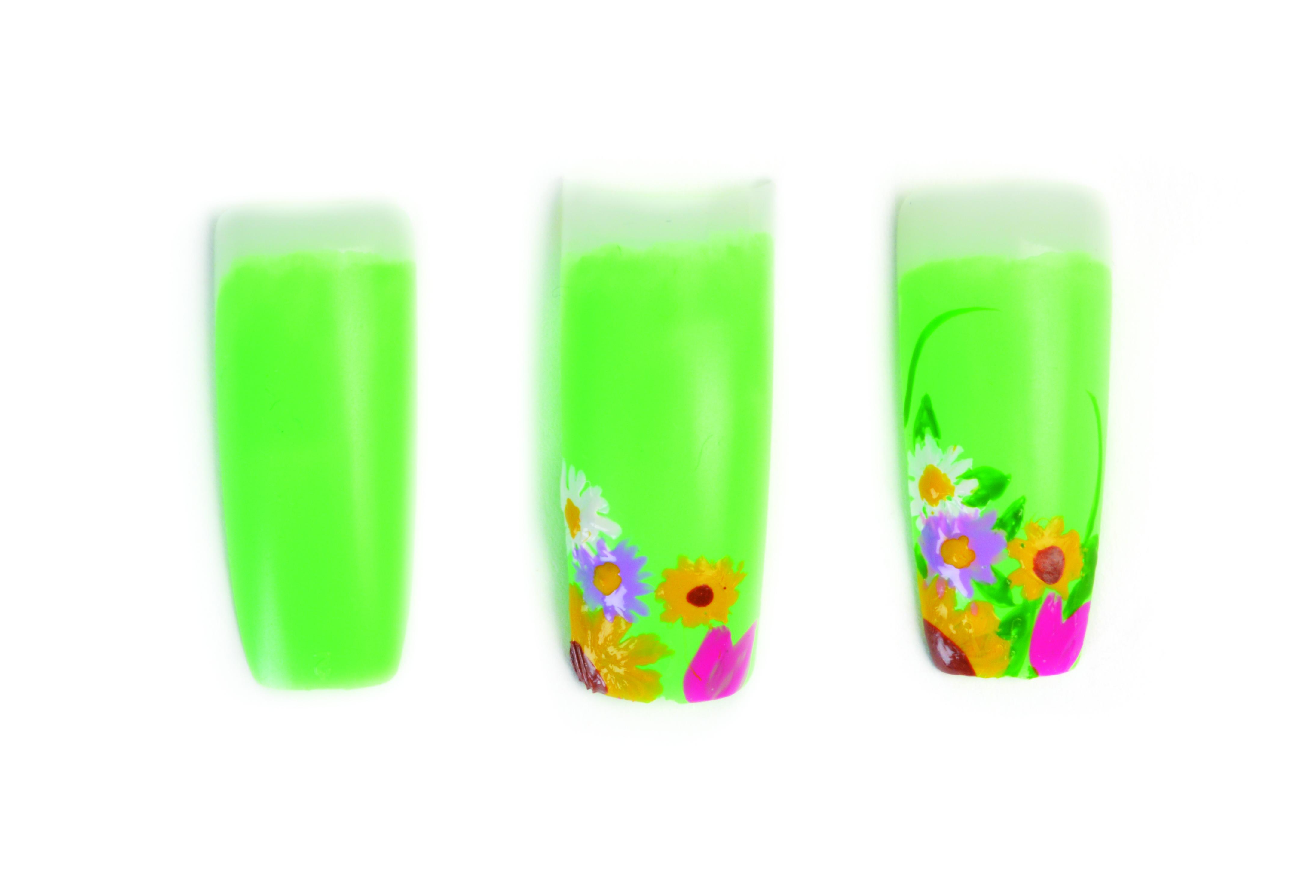 Nail Art Studio: Spring Bouquet