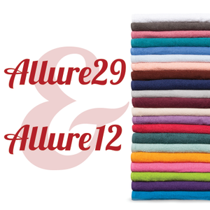 Allure 12 and Allure 29 Towels
