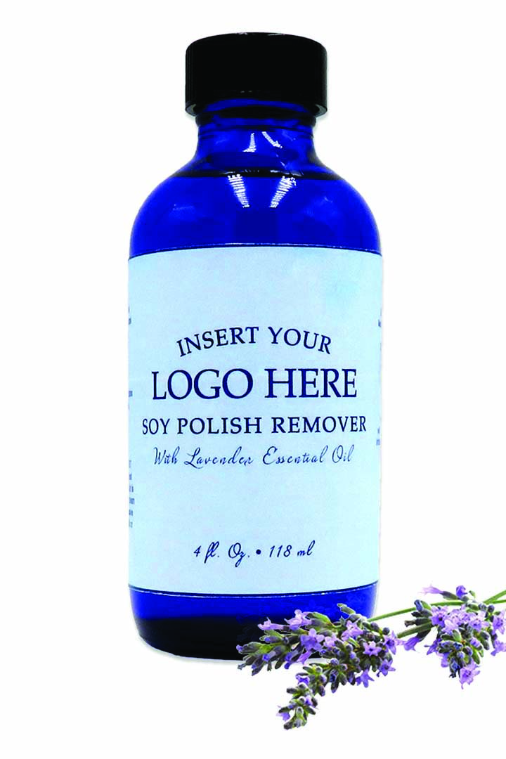 """<p>Diamond Cosmetics Soy Based Nail Polish Remover is a healthy and eco-friendly alternative to acetone- and non-acetone based nail polish removers. Create your own unique formula for your salon or spa by choosing from a selection of glass bottles, adding an essential oil, and creating a custom label.<br /><a href=""""http://www.diamondcosmetics.com"""">www.diamondcosmetics.com</a></p>"""