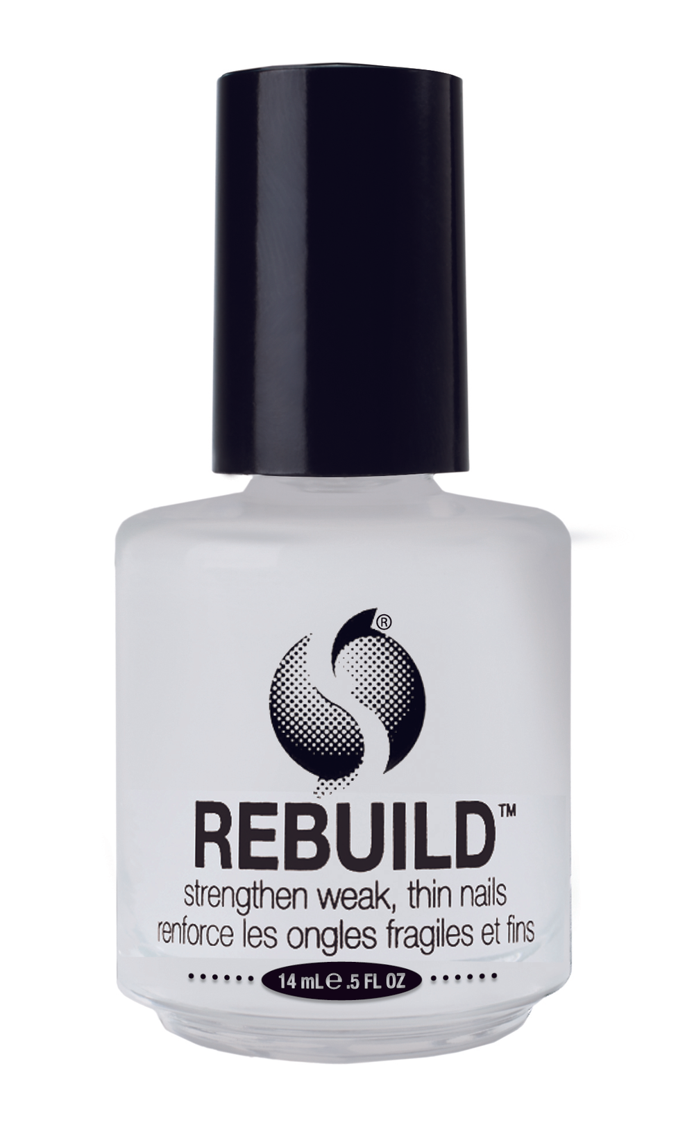 """<p>Seche Rebuild strengthens weak, thin nails. This unique protein formulation seals the layers of the natural nail together, reinforcing and thickening nails with each application. Use regularly as a base coat or alone to provide durability while promoting strength and flexibility. <br /><a href=""""http://www.seche.com"""">www.seche.com</a></p>"""