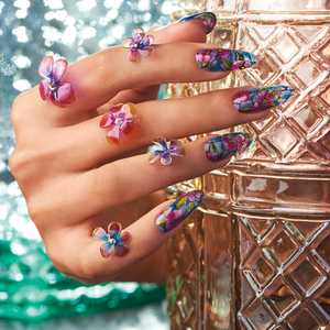 Behind the Scenes: Stained Glass Gel Nails