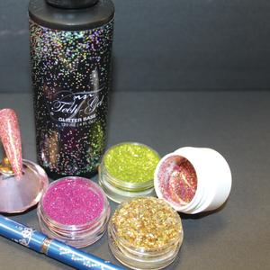 Create Custom Glitter Mixes With Tech Gel Glitter Base