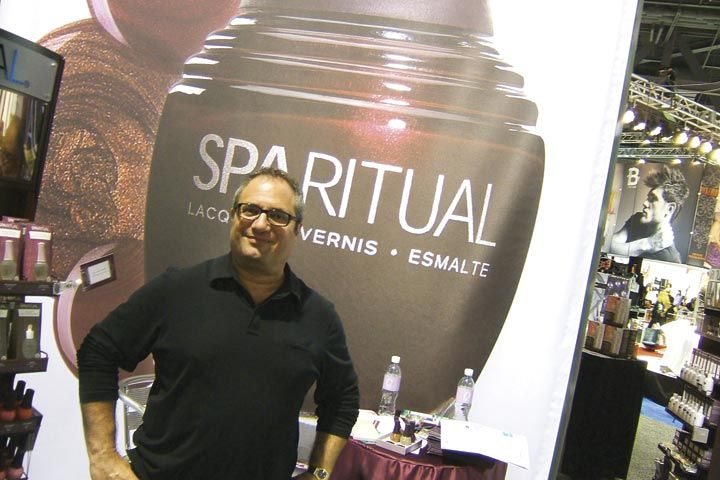 <p>Orly and SpaRitual&rsquo;s new communications manager John Galea worked the show floor and said he was excited to be working for the company as Orly approaches its 35th anniversary in the beauty industry.</p>