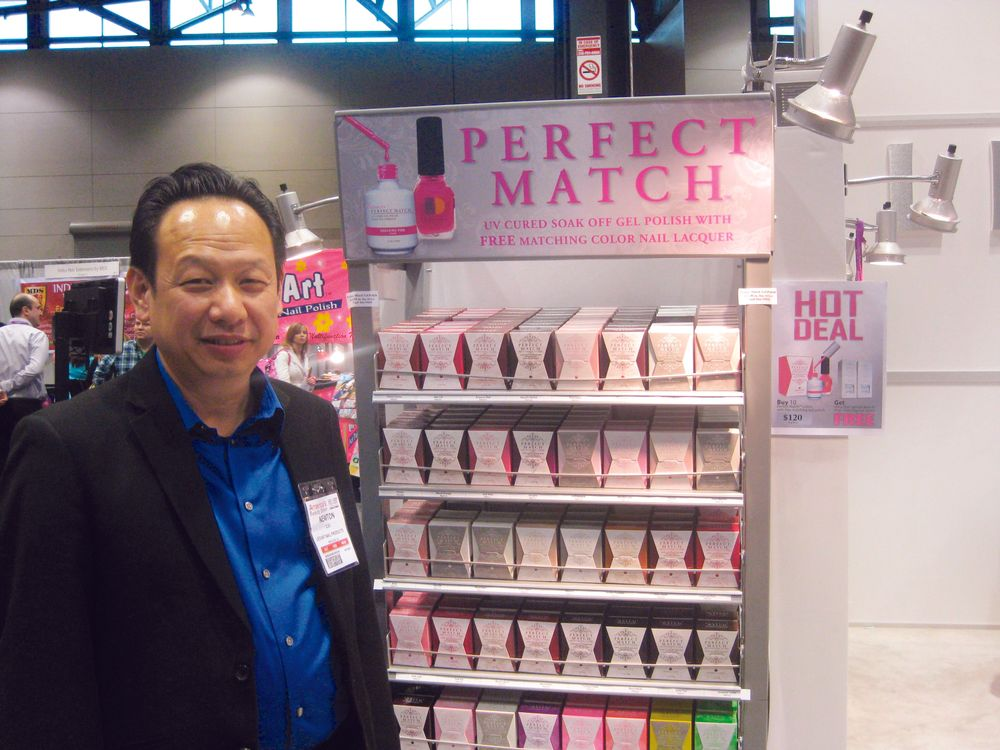 <p>Newton Luu talked about LeChat&rsquo;s upcoming Perfect Match gel polish collections.</p>