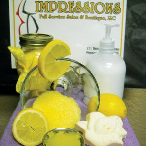 Old-Fashioned Lemon Drop Pedicure