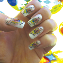 The Decal Gal: Applying Decals For Nail Art