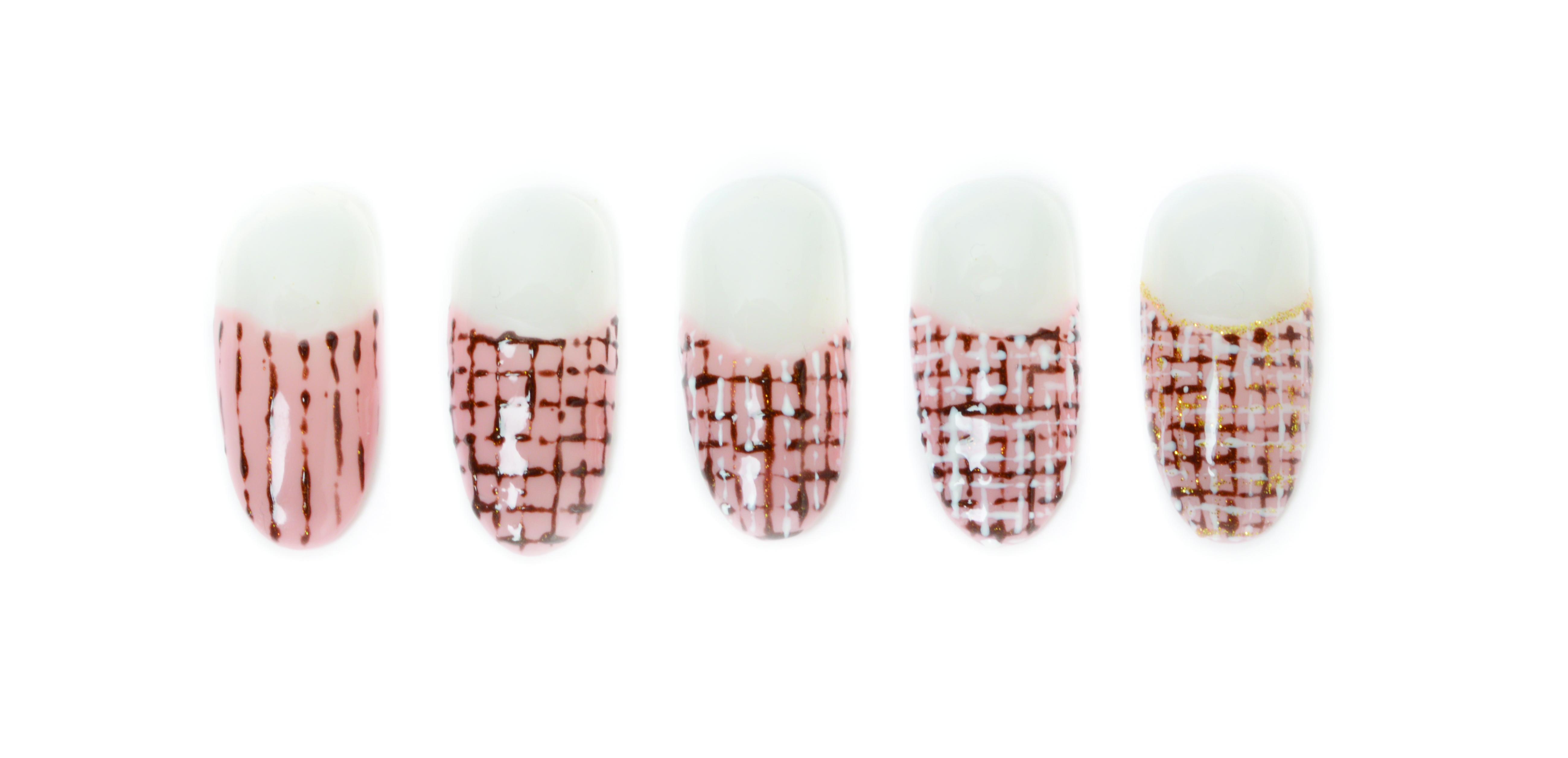 Classic Tweed Nails