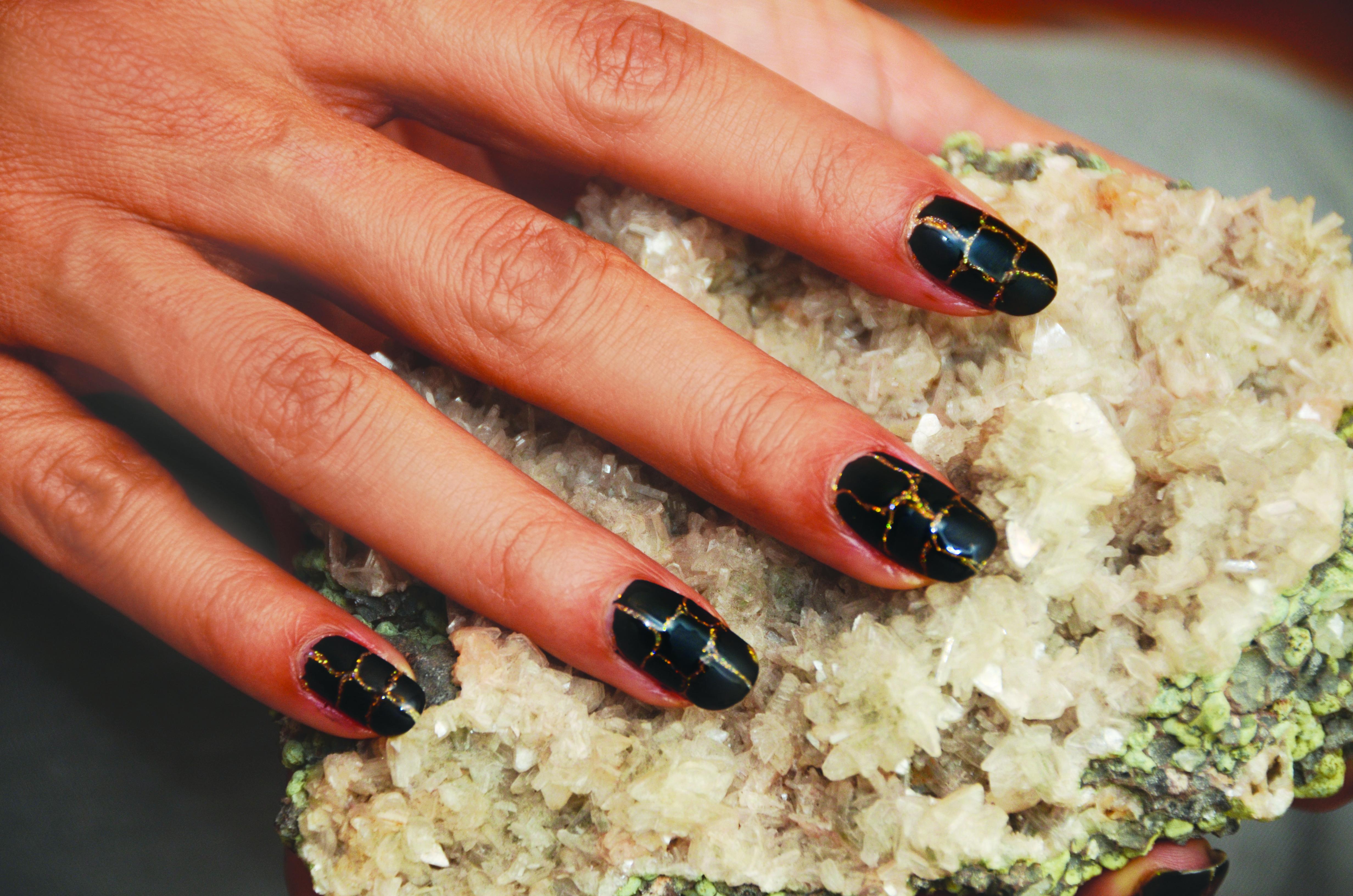 Lux Croco Gel-Polish Manicure