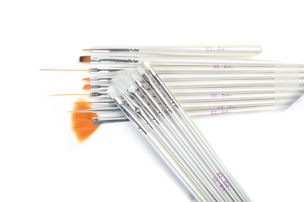 <p>The EZ Nails Nail Artist Brush Collection from Americanails.com features 15 professional-quality brushes that are easy-to-use with maximum control.&nbsp;</p>