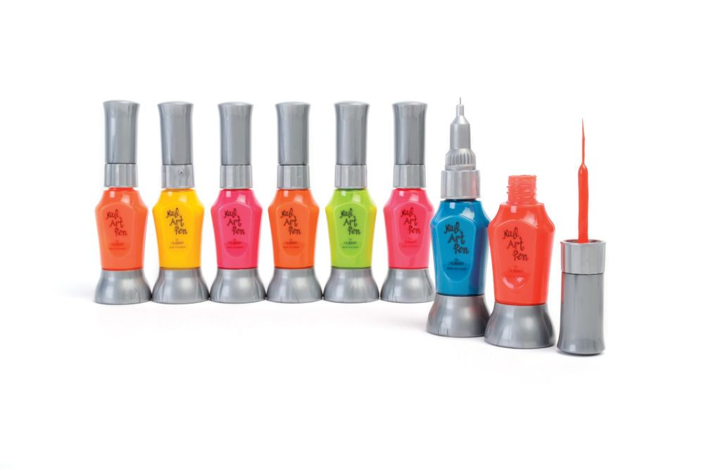 <p>Nubar&rsquo;s nail art accessories are for anyone who can do creative work. The neon nail art pens can help you take your designs to the next level of glam.&nbsp;</p>