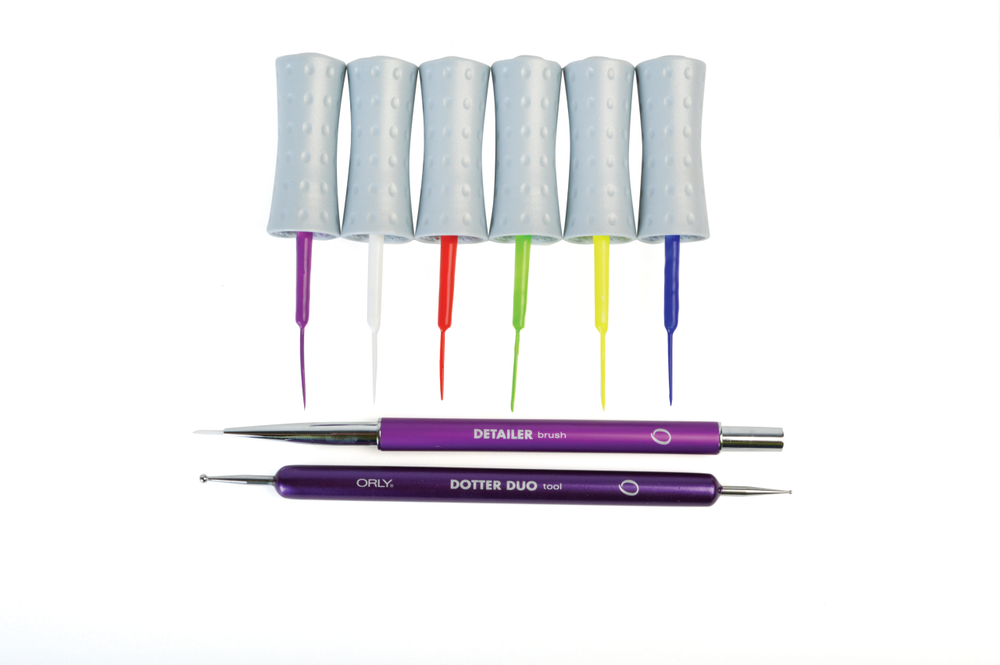 <p>Add a new level of detail to your nail art with tools from Orly. From a fine-bristled brush for details to a precise two-sided dotter, and Instant Artist Nail Colors, you are sure to create to your heart&rsquo;s desire.</p>