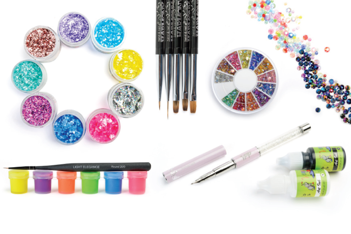 <p>Stock up to up the ante. Here's what hot in nail art.&nbsp;</p>