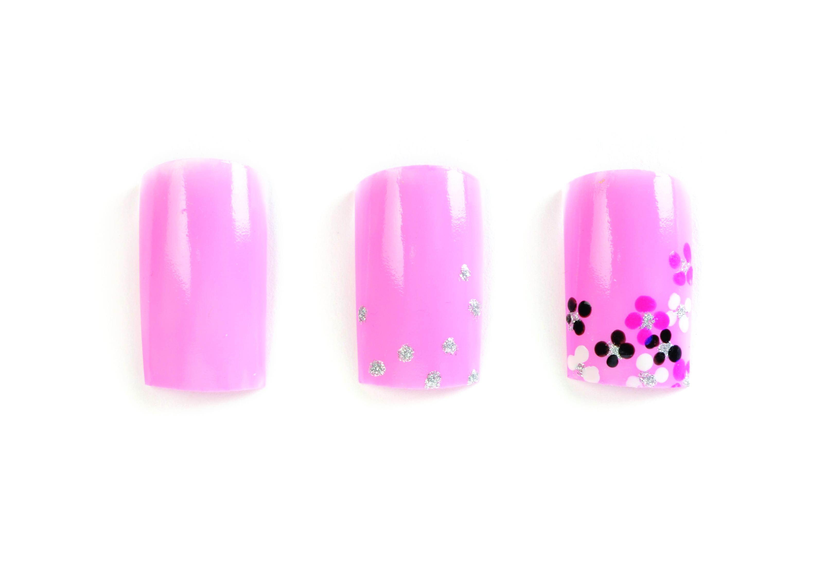Nail Art Studio: Pink Bouquet