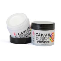 Caviar and Art Glitter and Confetti