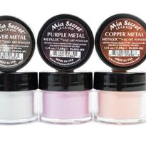 Metallic Nail Art Powder