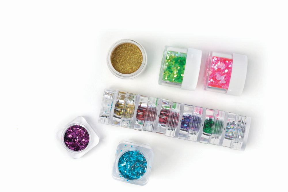 "<p>Christrio's versatile glitters are available individually or in 10-piece packs with six different color sets to choose from. The glitters are available in a plethora of colors, shapes, and sizes, from fine, sparkly powders to extremely shiny glitters.</p> <p><a href=""http://www.christrio.com"">www.christrio.com</a></p>"