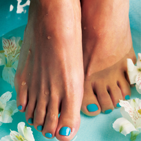 Behind the Scenes: The Footnanny Treatment For Feet