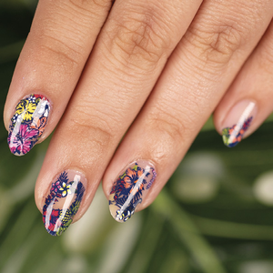Maniology Birds of Paradise Nail Art Tutorial