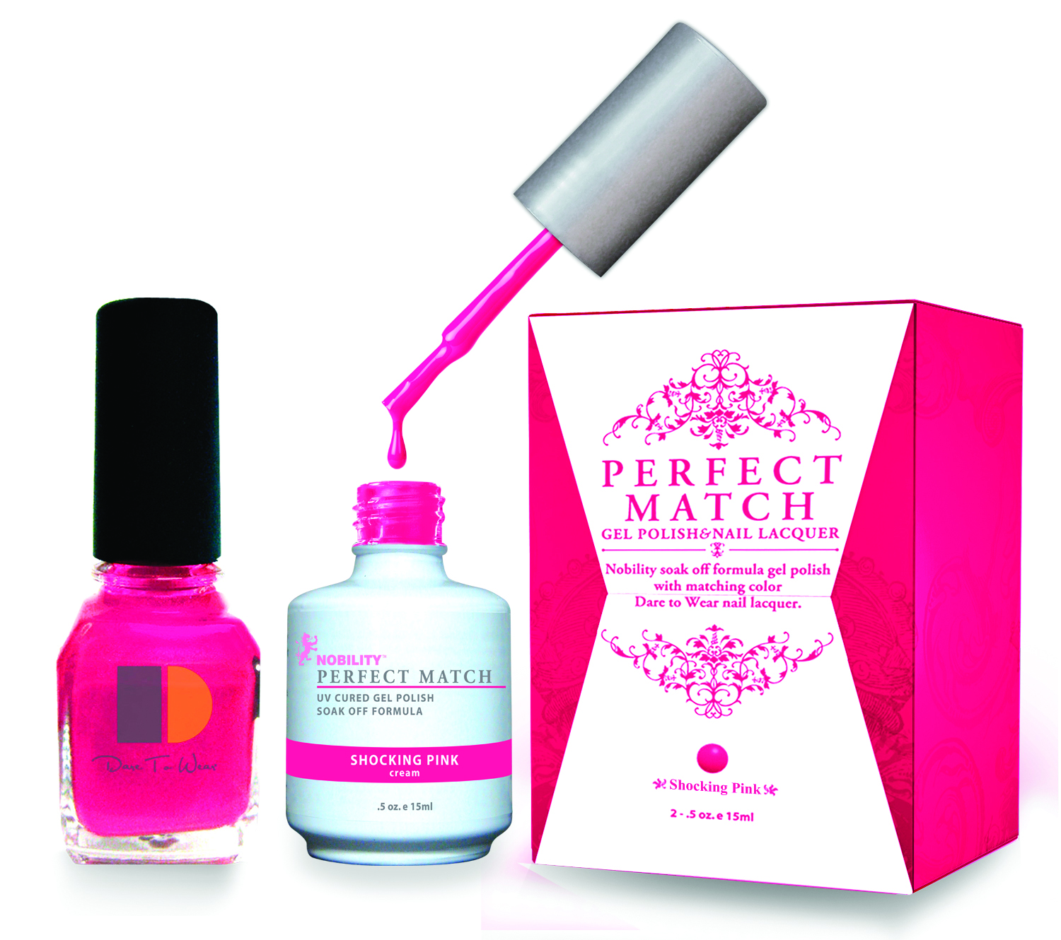 High Energy Neon Perfect Match Soak Off Colors