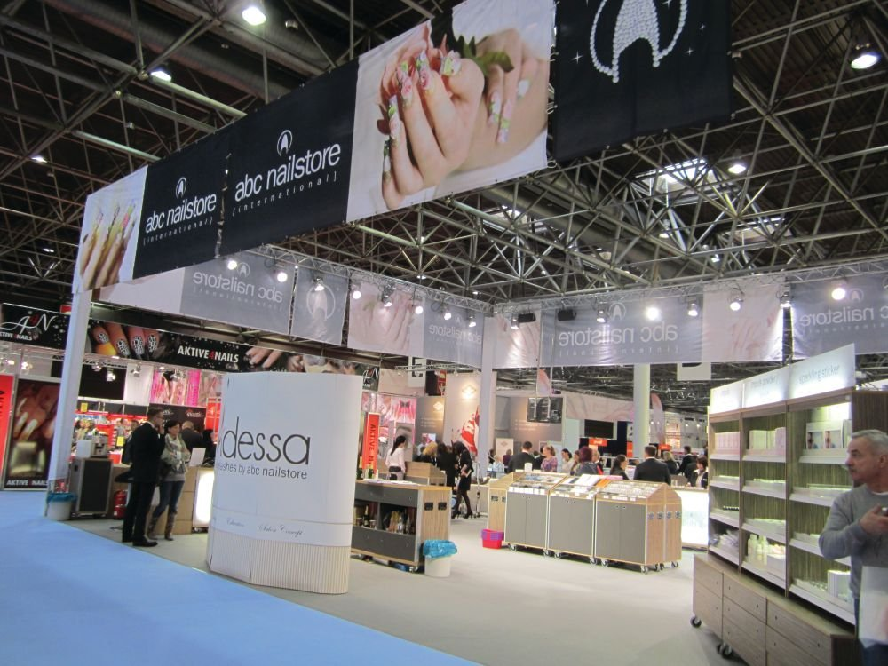 <p>Beauty International Dusseldorf is a gigantic show &mdash; there were more than 1,250 exhibitors from 22 countries and the show filled five large convention center halls.</p>