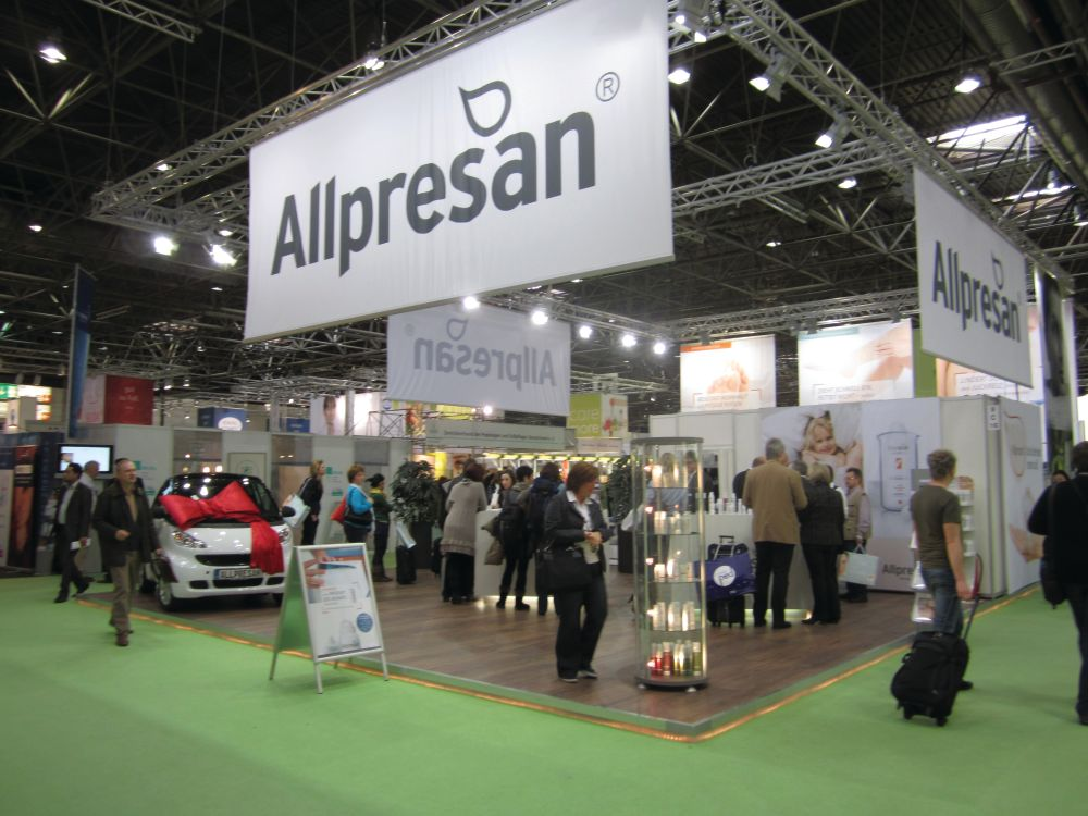 <p>There was an entire foot care hall at the show and, like Allpresan, many of them had a medical feel. Pedicures in Europe are less of a spa-service and more of a &ldquo;medi-spa&rdquo; service.</p>