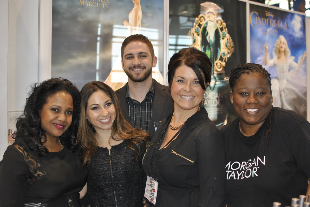 <p>Morgan Taylor team members Ronieka Howell, Morgan Haile, Jake Daniel, Vanessa Willoughby, and Star Payne celebrated the success of the brand&rsquo;s Cinderella collaboration.</p>