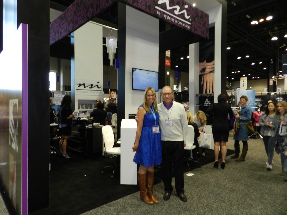 <p>It was great to see NSI&rsquo;s Fred Slack standing proud in front of the company&rsquo;s new booth with NAILS sales rep Mary Baughman.</p>