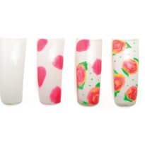 Basic Nail Art for Students: Springtime Floral