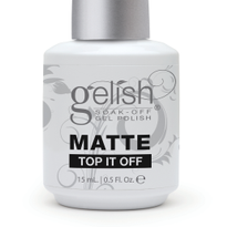 Matte Top It Off Soak-Off Gel Polish