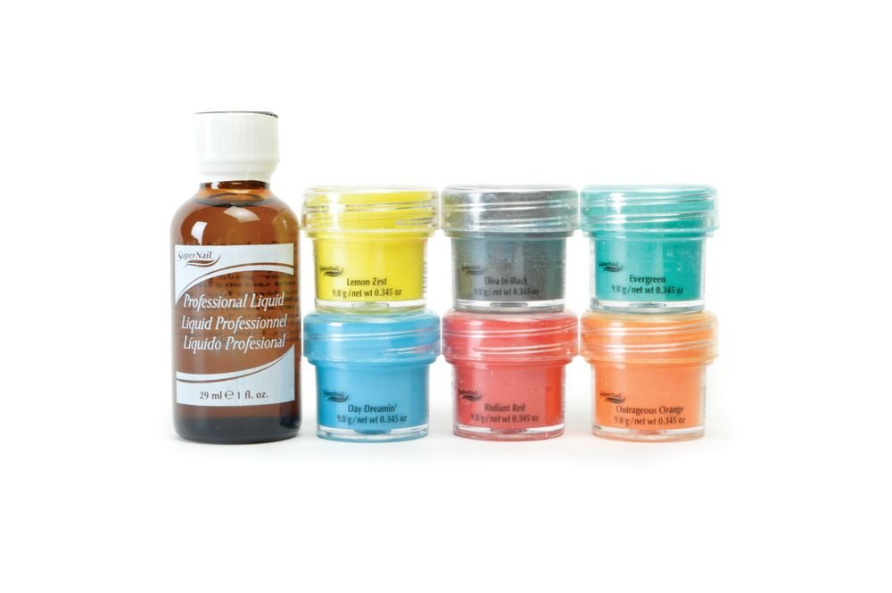 "<p>SuperNail Color Theory Professional Nail Color Acrylic Kit: These deep, bold, and vivid shades will create endless designs that are sure to cause nail envy.<br /><a href=""http://www.supernail.com"">www.supernail.com</a></p>"