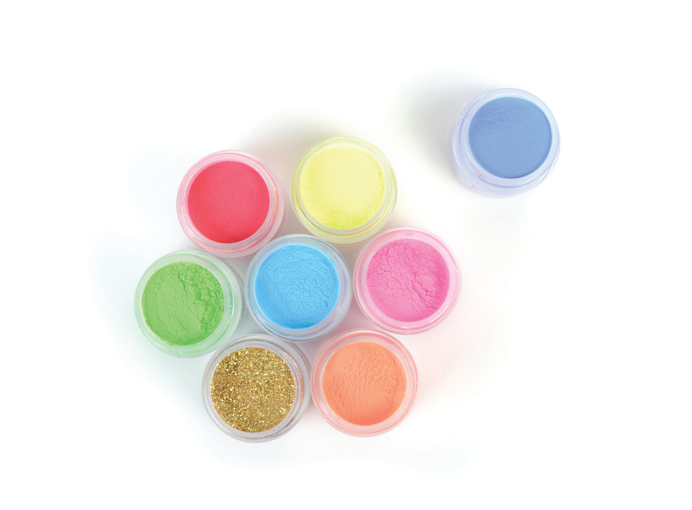 "<p>Christrio Deluxe Acrylic Polymer:<br />These intensely pigmented colored acrylic polymer powders are designed for acrylic art. Create 3-D designs, extreme nail art, or add a pop of color to a French manicure.<br /><a href=""http://www.christrio.com"">www.christrio.com</a></p>"