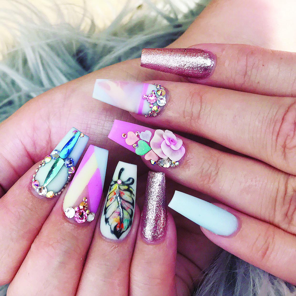 The Art of Acrylic Nail Art Designs