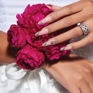 Behind the Scenes: Bridal French With an Edge