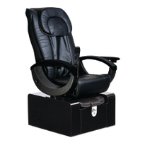 Plumbing-Free Spa Chair Minimizes Space