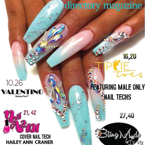 Atlanta Tech Self-Publishes Nail Art Magazine
