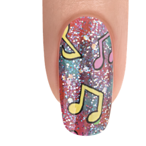 Morgan Taylor Musical Fantasy Nail Art Tutorial