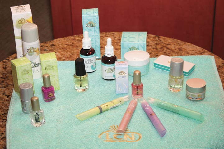 <p>Aside from gel products, LCN also has an extensive line of hand, foot, and spa care products, including polish, nail oils, masks, and polish removers.</p>