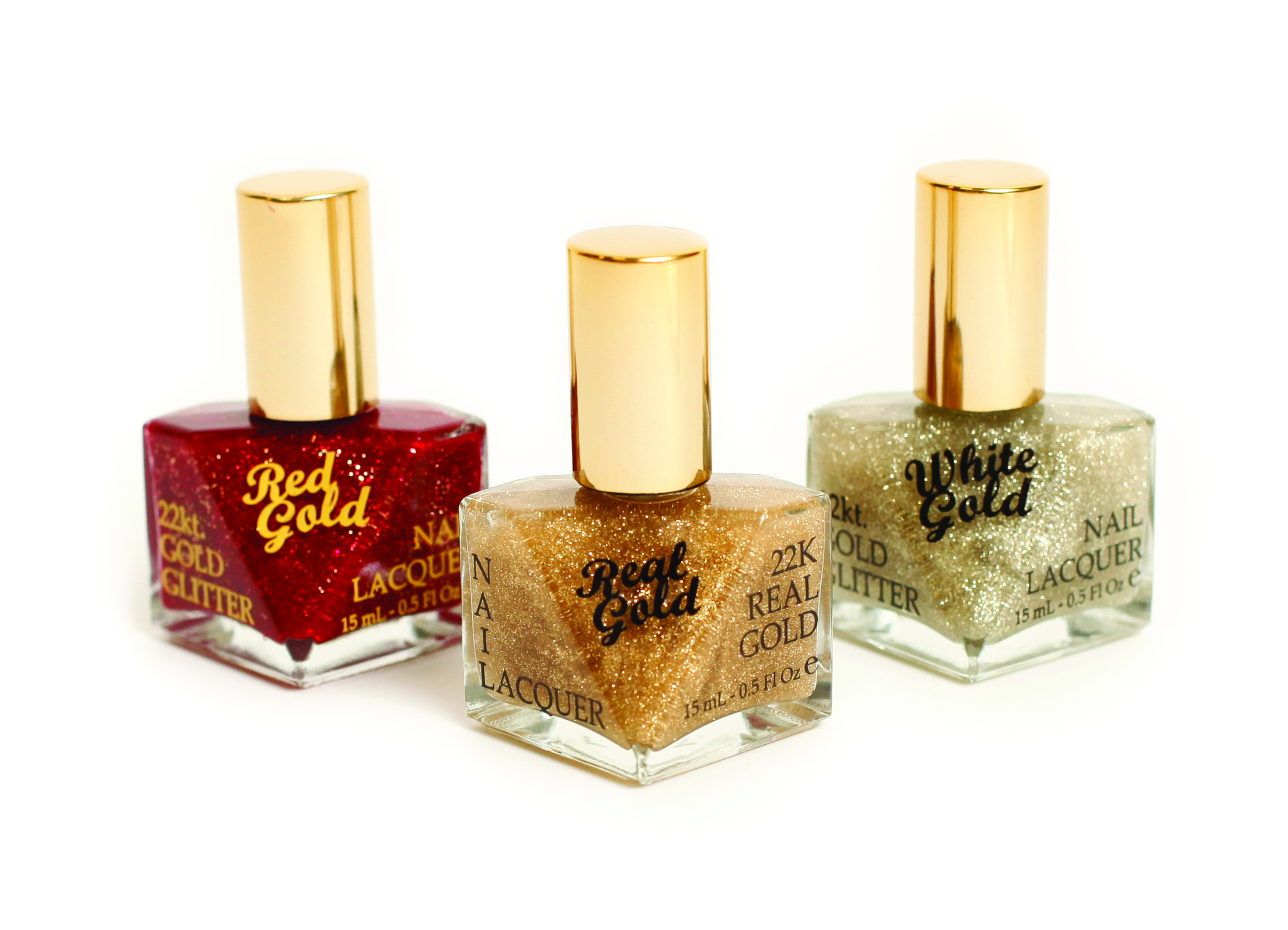 Real Gold and Silver Top Coats
