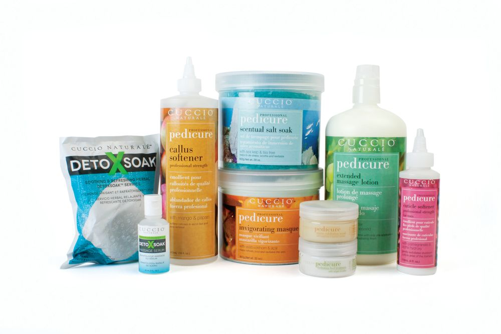 "<p>Cuccio&rsquo;s Pedicure Business Builder Kit combines fruit- and botanical-based ingredients to refresh and relax your clients&rsquo; feet. The kit includes eight different treatments. The scentual salt soak with sea kelp and tea tree oil, the professional-strength cuticle softener for toes, micro exfoliation scrub, professional-strength callus softener, invigorating masque, pedicure extended massage lotion, hydrating heel treatment, and DetoXsoak Starter Kit.</p> <p><a href=""http://www.cuccio.com/"">www.cuccio.com</a></p>"