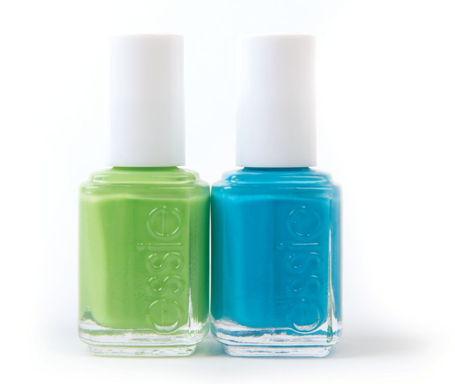 """<p><a href=""""http://www.essie.com/"""">Essie</a>&rsquo;s Too Taboo neon collection dries matte for better reflection and brighter opacity. Colors like Vices Versa (neon lime) and I&rsquo;m Addicted (neon aquamarine) are just two of the shades you&rsquo;ll find in this juicy collection. <br /><br /></p>"""