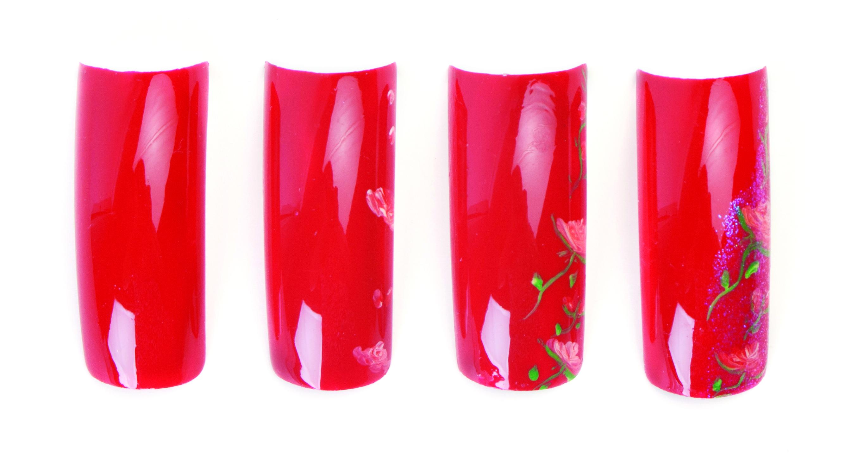 Nail Art Studio: Summer Roses