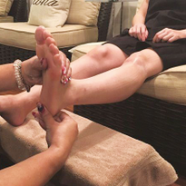 Foot reflexology may appeal to customers looking for healthful, individualized services.